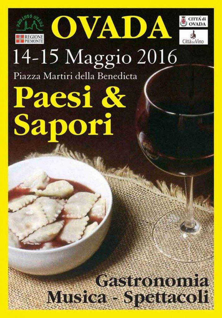 Paesi e Sapori - Ovada (Alessandria) 14-15 Maggio 2016