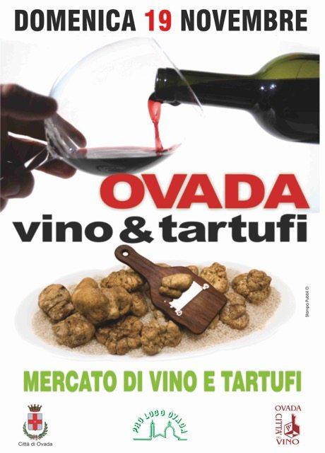 Ovada: Vino e Tartufi –domenica 19 novembre 2017 Ovada (AL)