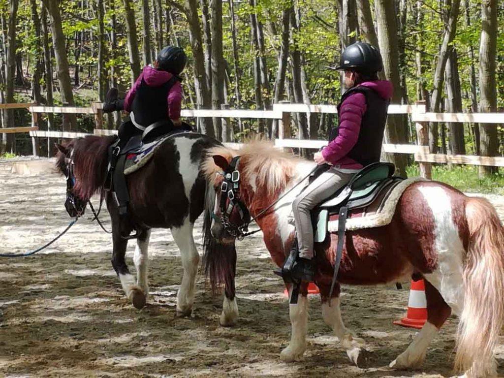 A cavallo con i bambini nell'entroterra di Savona